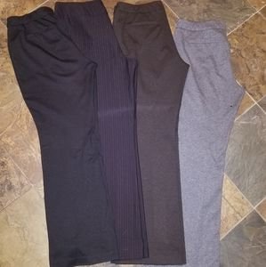 Four pairs NY and Co pants.